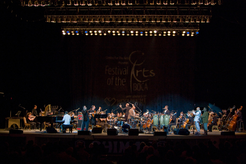 Cuban music ensemble meets symphony orchestra