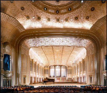 Severance Hall, home of the Cleveland Orchestra